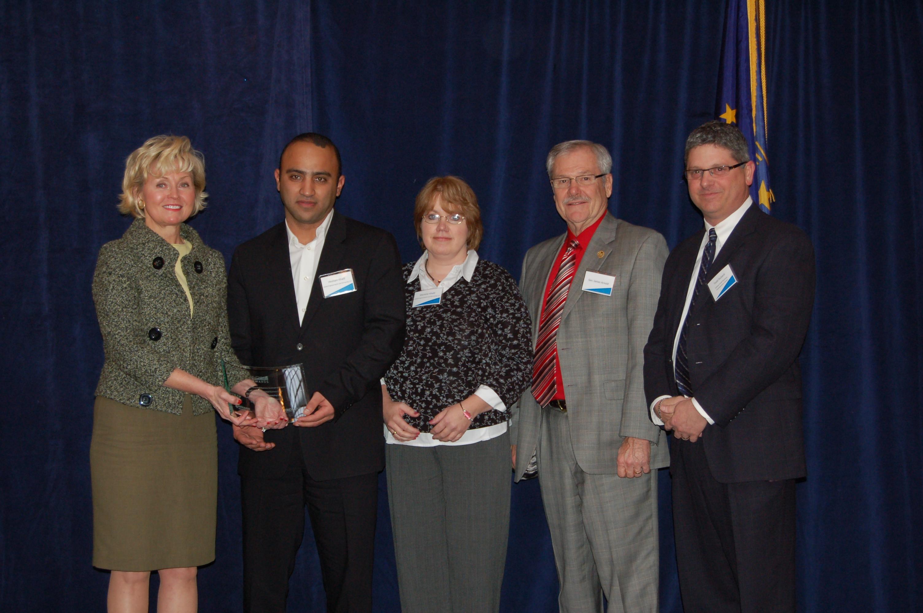 2010 EDGE Award Winners Global Land Surveying, LLC.